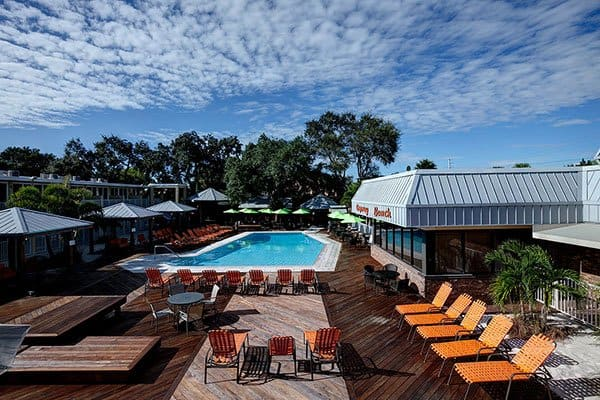 Virage Hotel outdoor pool in Florida Gulf Coast