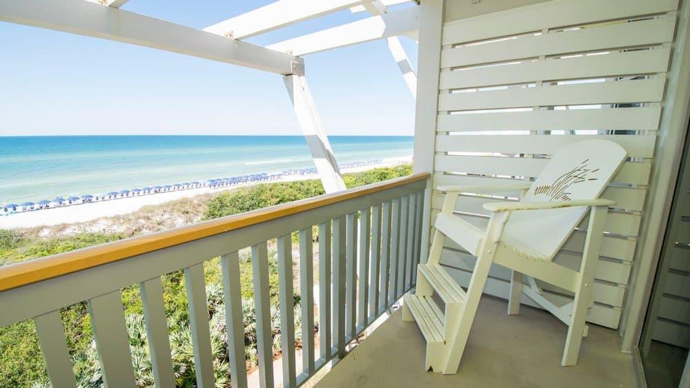 Watercolor Inn view on Daytona Beach