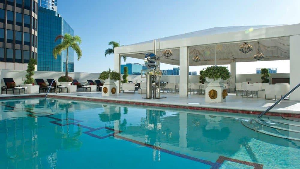 Grand Bohemian Hotel pool in Downtown Orlando