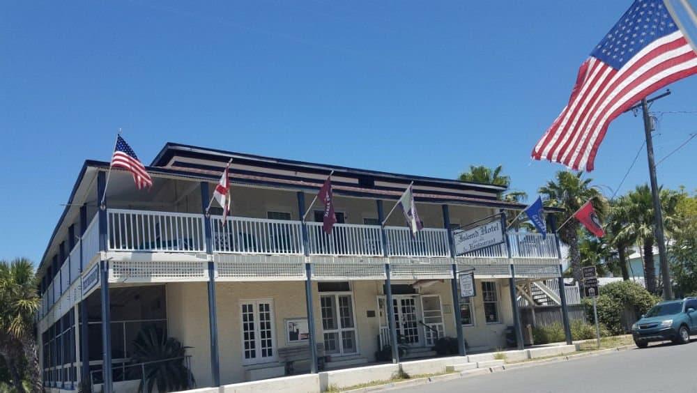 Island Hotel in Cedar Key