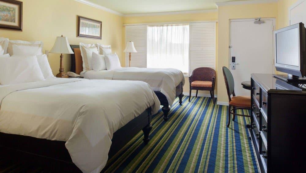 Key Largo Bay Marriott Beach Resort bedrooms