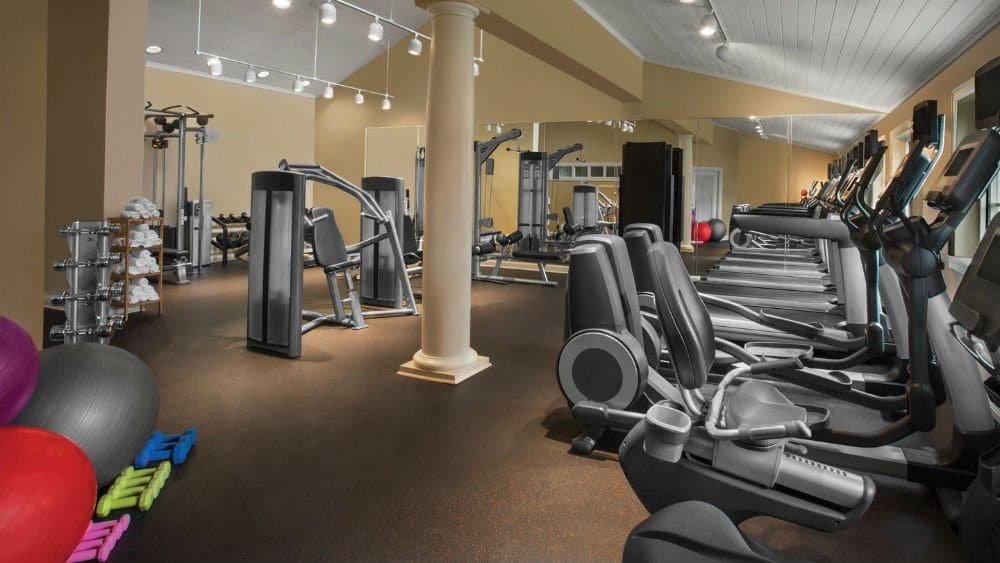 Marriott's Legends Edge gym in Panama City Florida