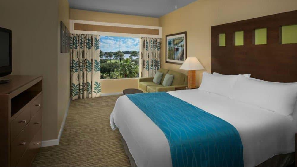 Marriott's Legends Edge bedroom in Panama City Florida