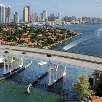 Downtown Miami city