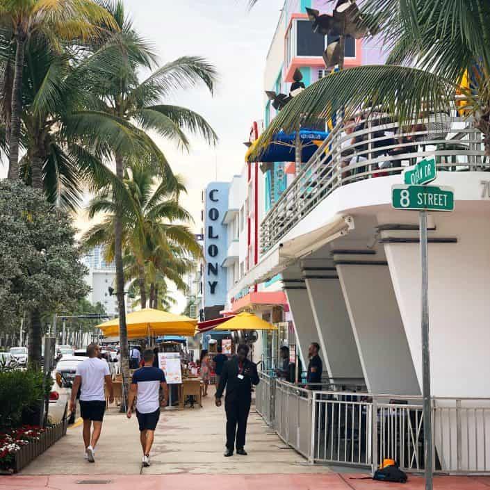 Ocean Drive Miami south beach miami
