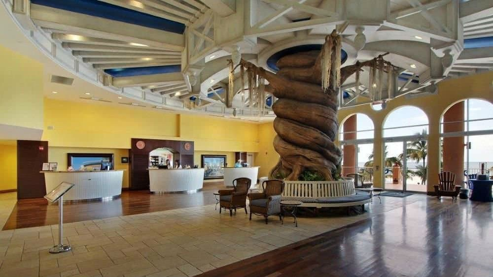 Pink Shell Beach Resort lobby in Fort Myers