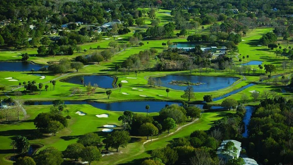 Plantation golf course on Kings Bay Crystal River resort