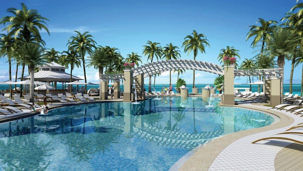 Playa Largo Resort pool in Key Largo