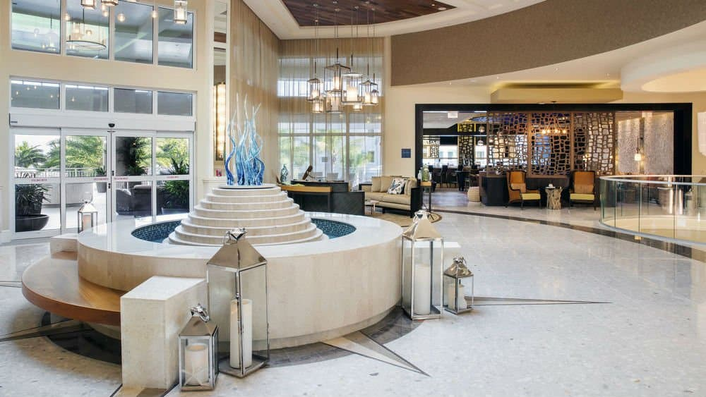 Playa Largo Resort lobby in Key Largo