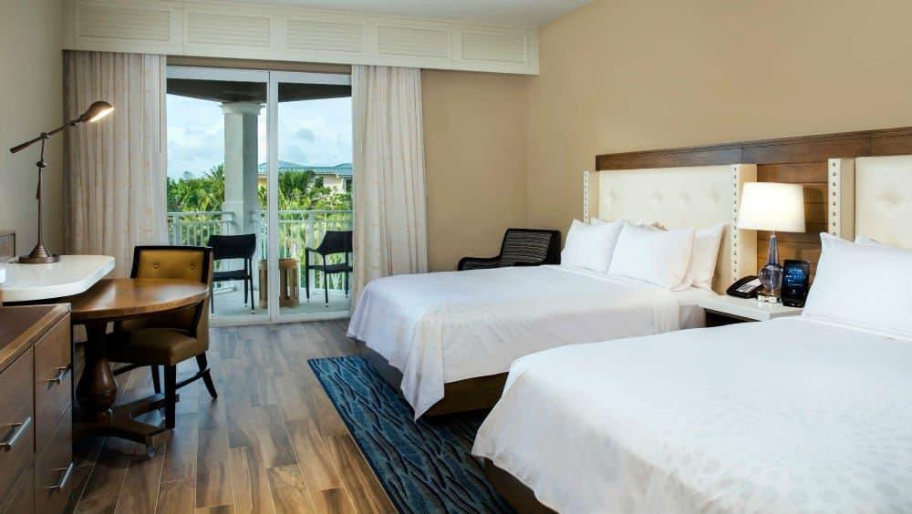 Playa Largo Resort bedroom in Key Largo