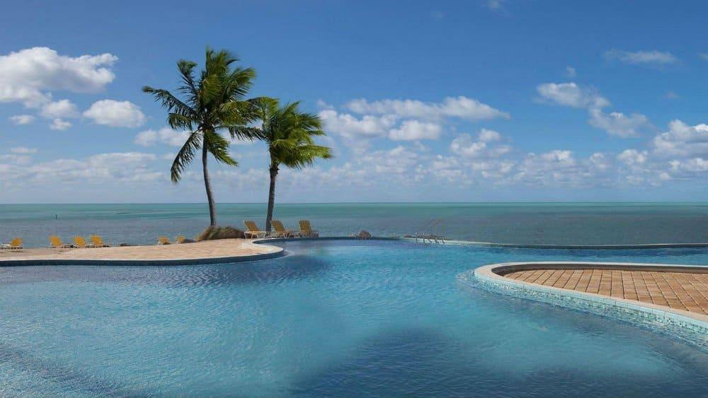 Postcard Inn pool in Islamorada