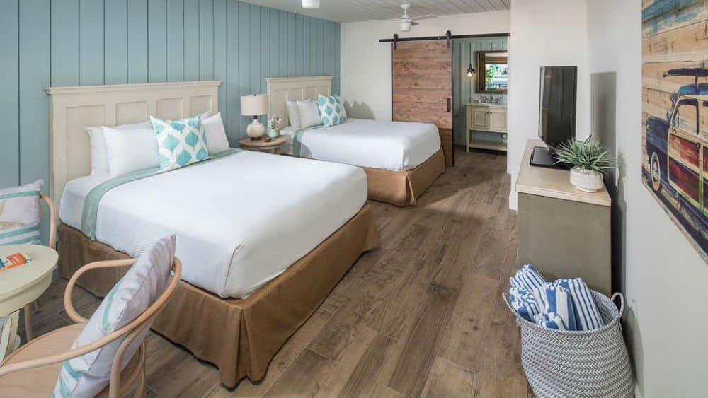 Postcard Inn bedroom in Islamorada