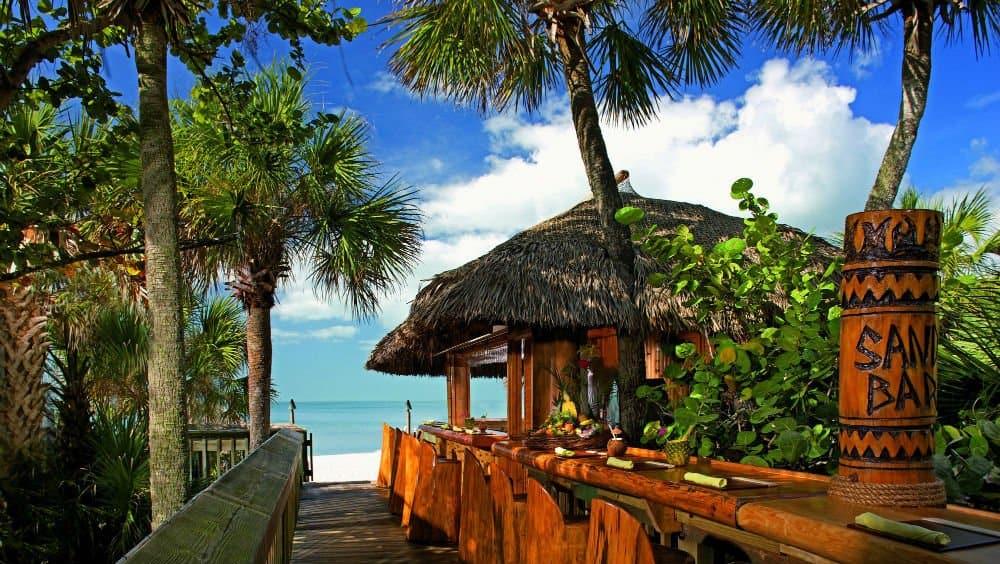 Ritz Carlton beach in Naples Florida