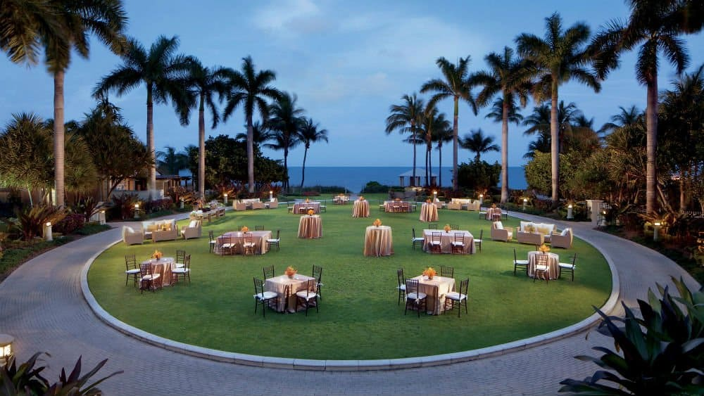 Ritz Carlton dining - Miami Holiday in Key Biscayne
