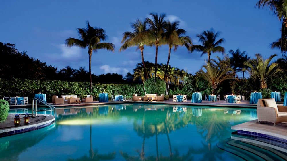 Ritz Carlton pool - Miami Holiday in Key Biscayne