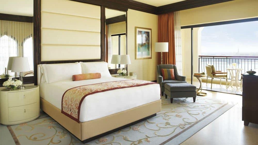 Ritz Carlton bedroom in Naples Florida