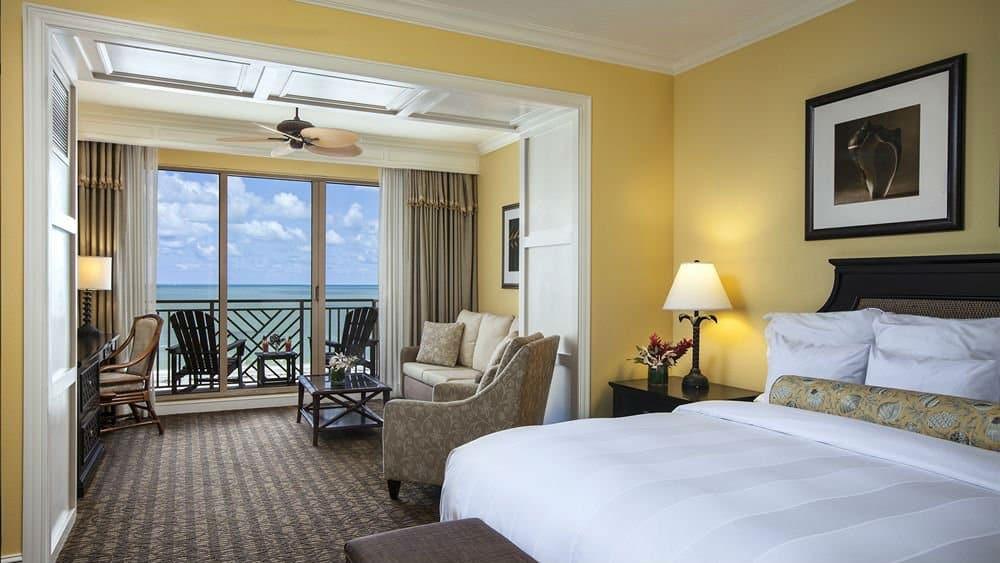 Sandpearl Resort bedroom in St Petersburg Florida