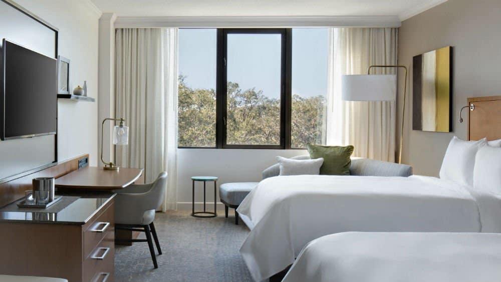 Sawgrass Marriot bedroom - a Florida Golf Resorts