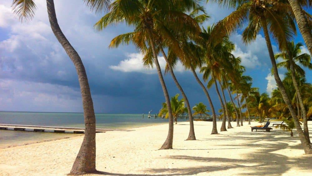 The Moorings Village beach a Florida Keys Holiday