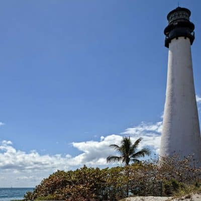 Lighthouse in Key Biscayne