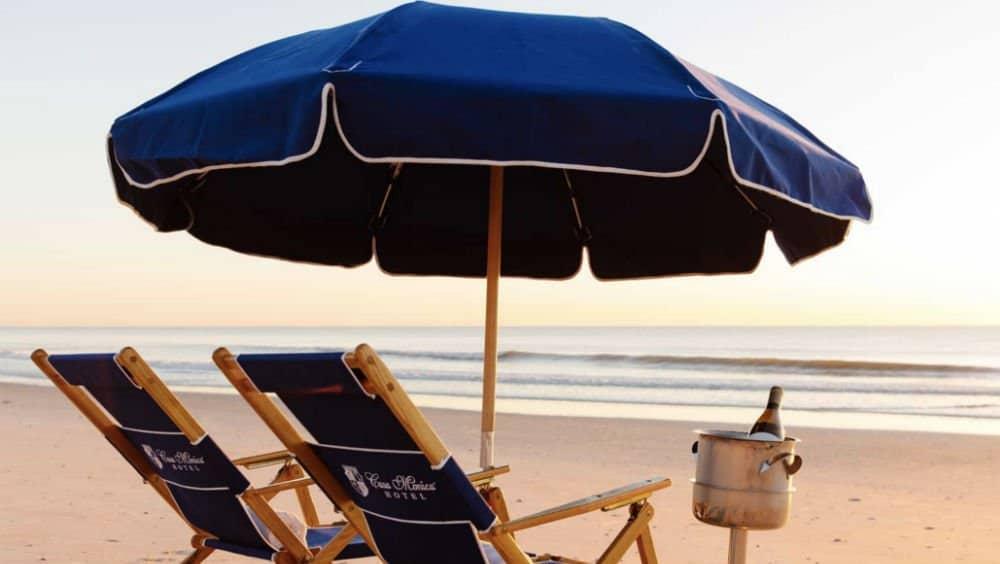 Casa Monica Resort beach in St Augustine Florida