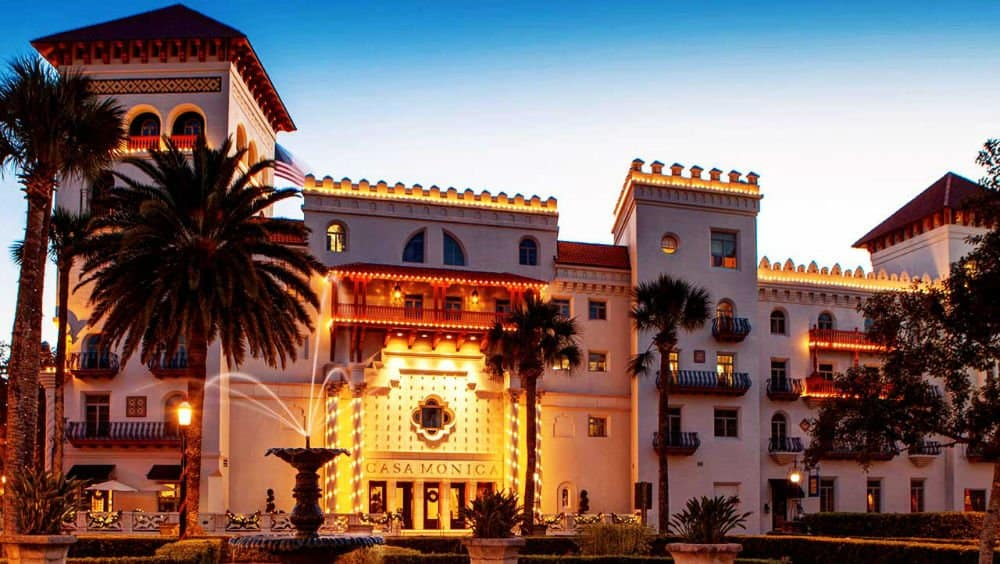 casa monica hotel downtown st augustine the luxury side of florida