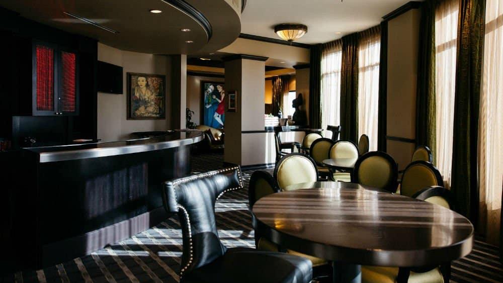 Grand Bohemian Hotel bar in Downtown Orlando