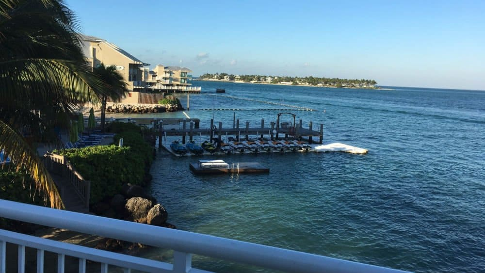 Hyatt Centric Resort marina in Key West