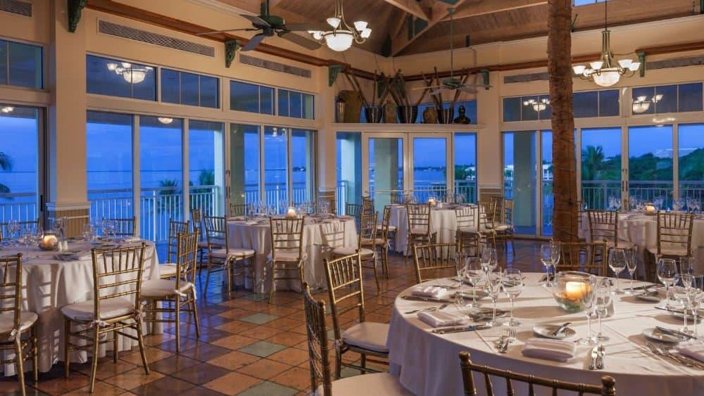 Key Largo Bay Marriott Beach Resort dining