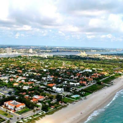 Palm Beach community and beaches