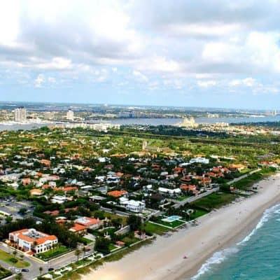 Palm Beach community and beaches