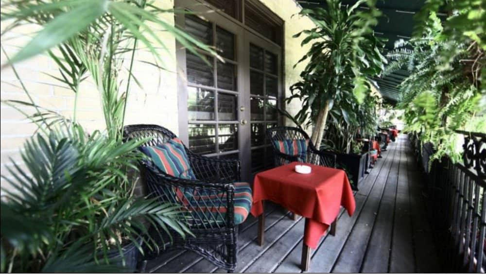 Park Plaza Hotel dining in Winter Park Florida
