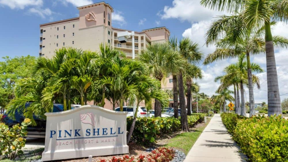 Pink Shell Beach Resort in Fort Myers