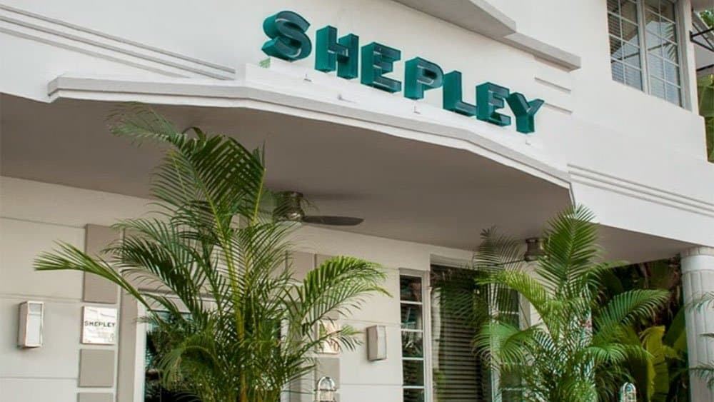 The Shepley Hotel in Miami Beach
