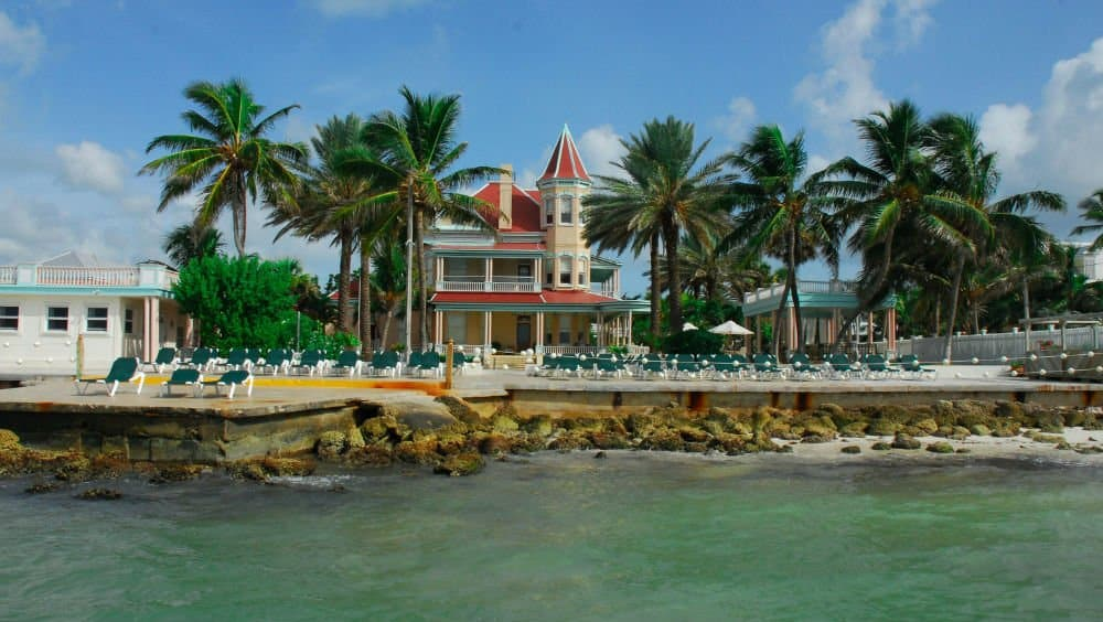 The Southernmost House beach a Florida Keys Holiday