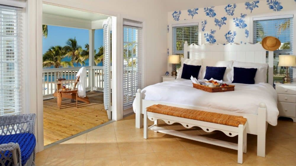 Tranquility Bay Beach House Resort bedroom in Marathon Florida