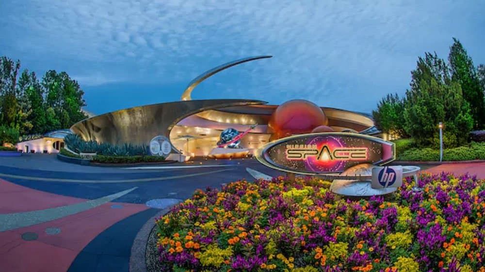 Mission Space theme parks in florida
