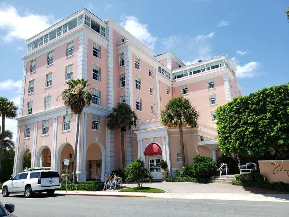 The colony hotel Worth Avenue
