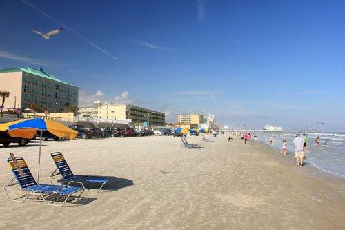 Beaches near the Kennedy Space Center