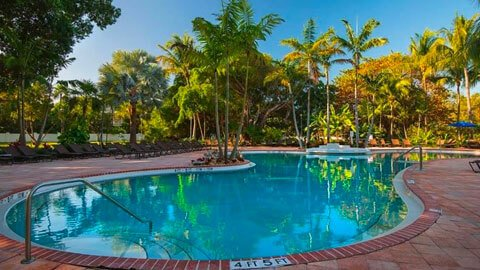 Hawks Cay Resort pool in Marathon Florida