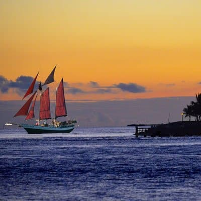 Key West sailing tours