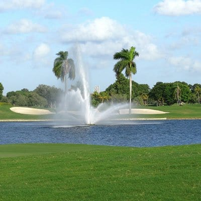 Golf Course in Downtown Miami