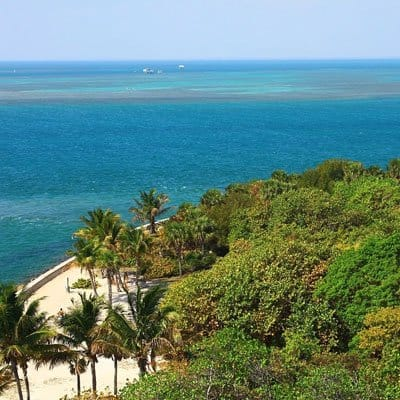 Hotels and beaches in Key Biscayne