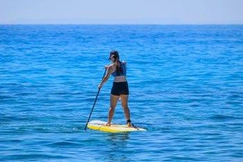 Paddleboarding in Florida, Panhandle
