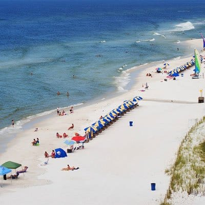 Panama City Florida beach