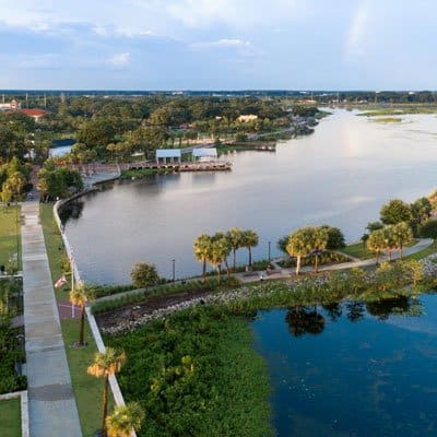 Kissimmee waterfront