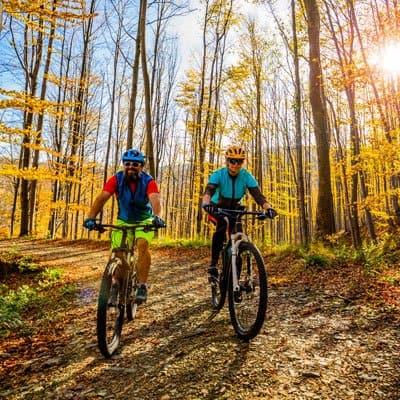 Kings Bay Crystal River resort cycling