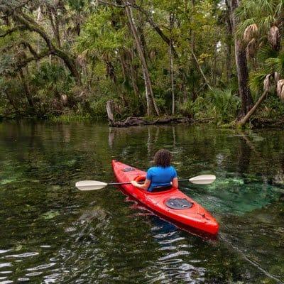 Kings Bay Crystal River resort kayaking