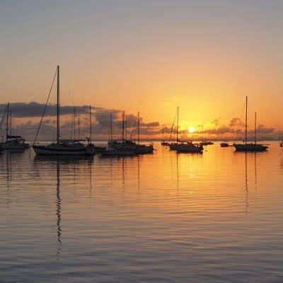 Coconut Grove sunset