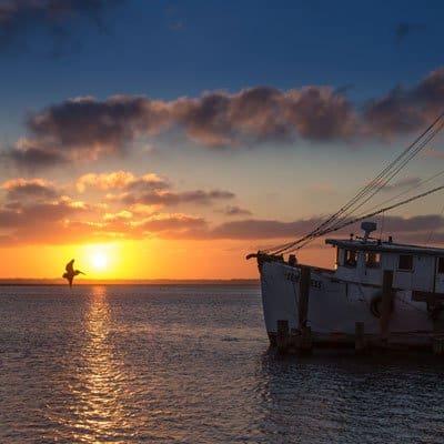 Amelia Island fishing boat